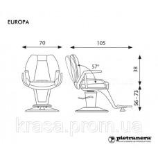 Кресло Barber Europa (Pietranera, пр-во Италия)