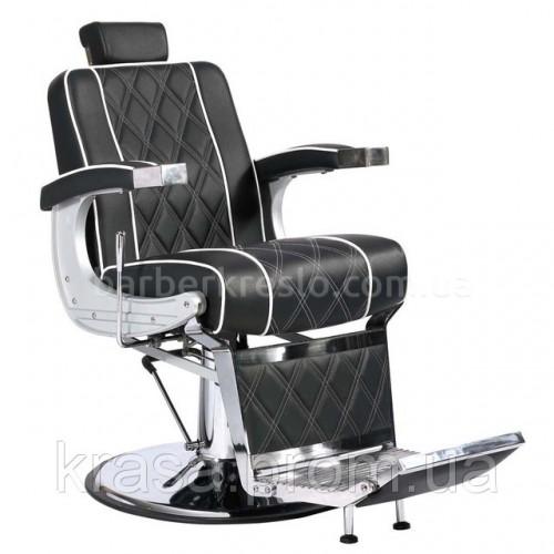 Кресло для Барбершопа Valencia lux черное