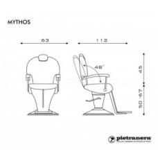 Барбер кресло Mythos, Pietranera