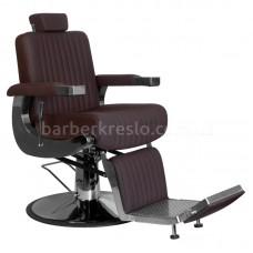 Кресло барбера LINO коричневое