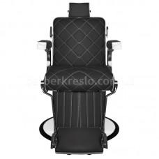 Кресло для барбершопа GIUSEPPE черное