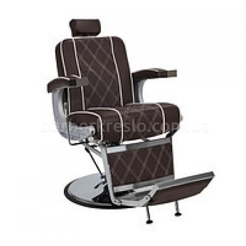 Кресло для Барбершопа Valencia lux коричневое