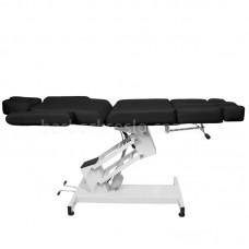 Кресло для татуировок и педикюра с  электрической регулировкой AZZURO 706